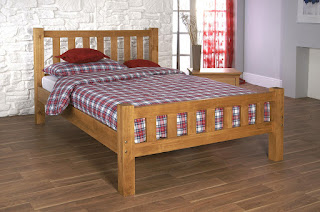 Vintage LB sleek clean lines bed frame available sizes