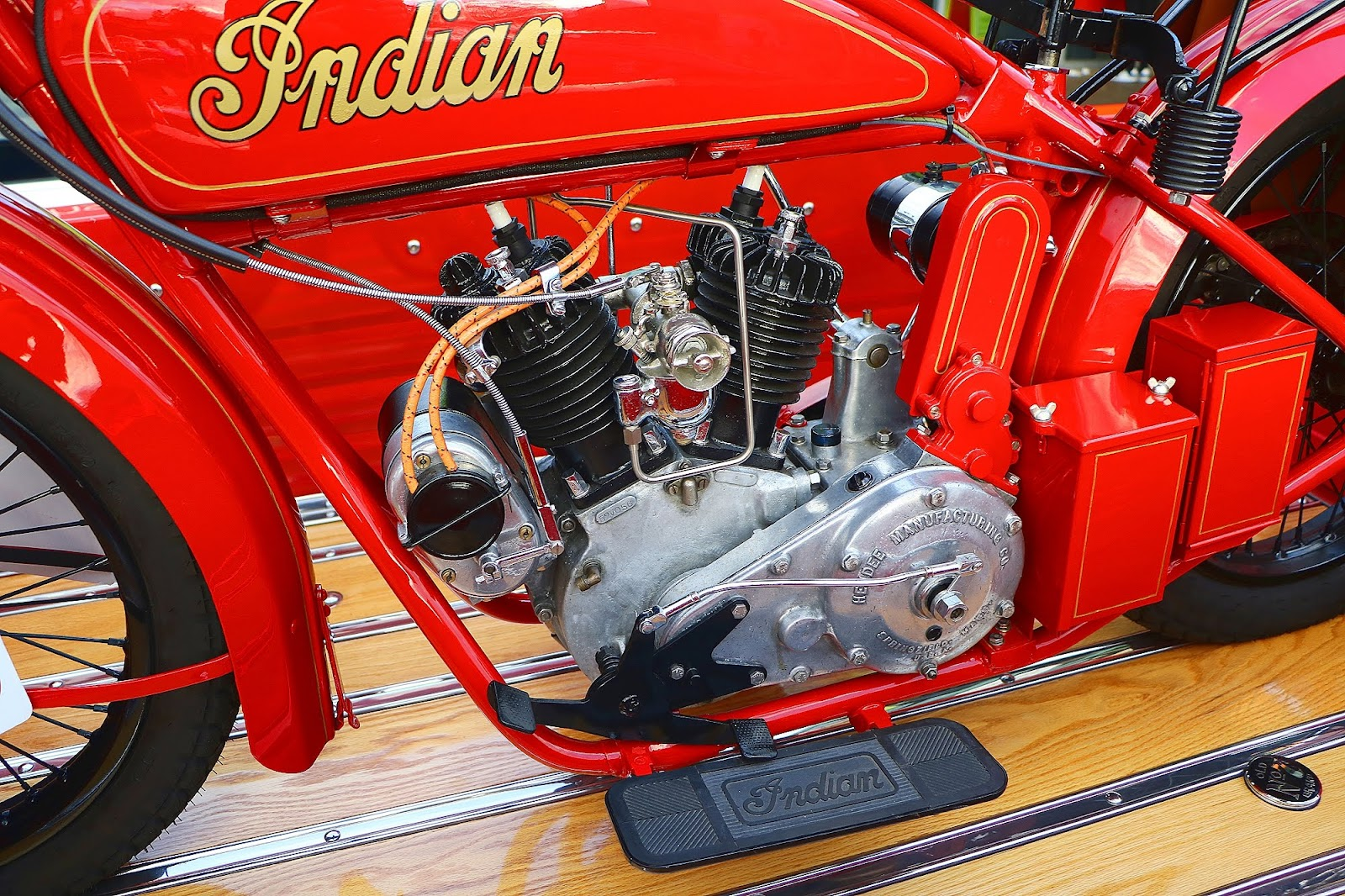 1955 GMC Truck and 1923 Indian Engine.jpg