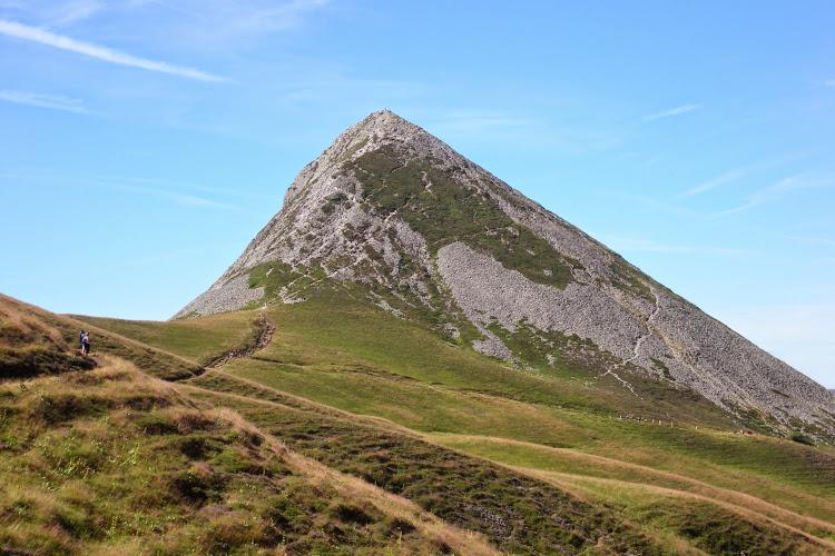 Le Cantal à pied - Le Puy Griou depuis le Col de Font de Cère