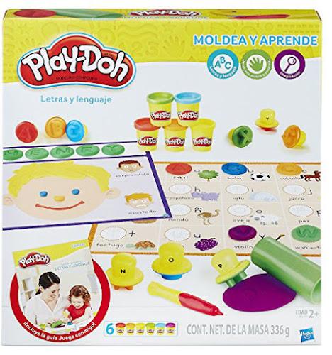Play Doh letras y lenguaje