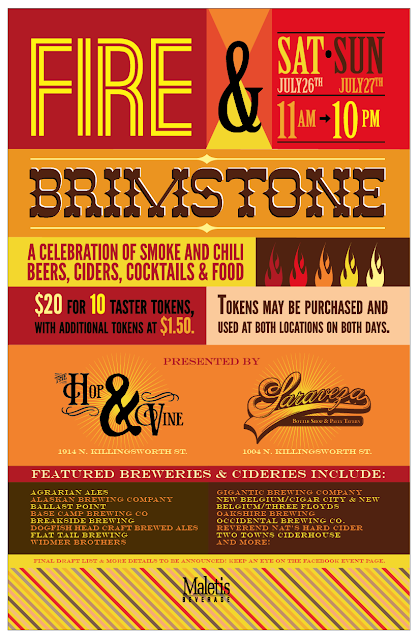 Fire & Brimstone Festival: a Celebration of Chili and Smoke Beverages