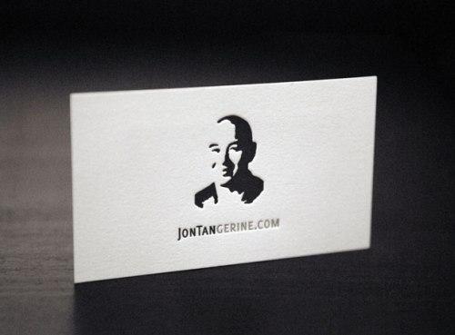 Jontan Gerine business card