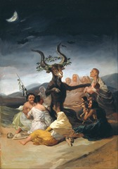goya brujas brujeria witch magia negra blanca roja escribir una novela de fantasia edad media medievo medieval hechicera