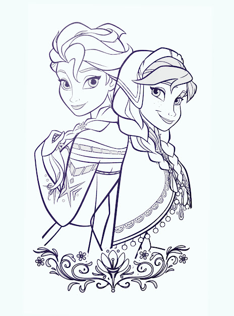 Anna From Frozen Coloring Pages  File Name  Cbcffeo  Resolution  Image
