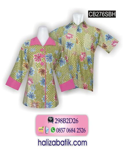 Contoh Baju Batik, Sarimbit Batik, Batik Murah Online, CB276SBH