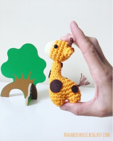 Crochet Giraffe Patterns You'll Love To Make -The WHOot | 480x385