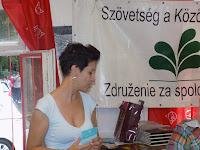 Somogyi Mónika, a hevesi CIC képviseletében.JPG