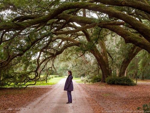jess at tea plantation Charleston