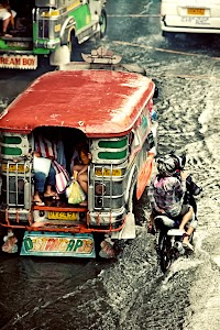 Staying Dry in a Jeepney