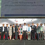 IGDS Networking and Awards Presentation Ceremony