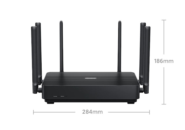 New Xiaomi Router AX6S/AX3200 Wifi 6 Dual-Band 3202Mbs Gigabit Rate Security Encryption Mesh Wifi External Signal Amplifier