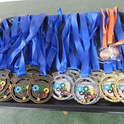 Entrega de Medalhas das Olimpíadas OBR e OBA