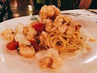 Pappagallo Grand Cayman: spaghetti