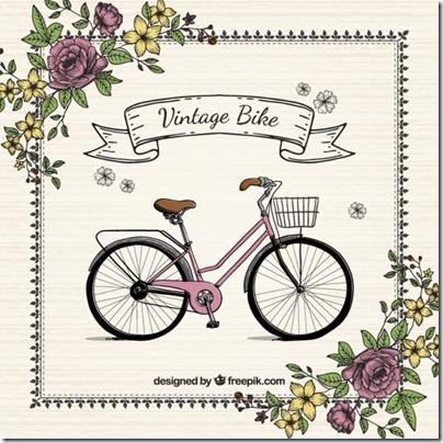 imágenes de bicicletas con flores (7)
