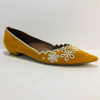 Tabitha Simmons Suede Flats