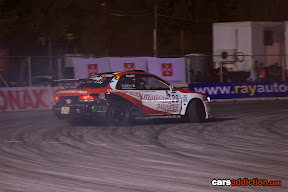 Walton Smith drifting the Jap Performance Subaru