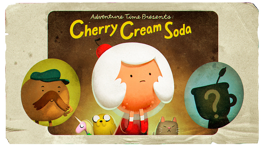 Hora de Aventura: Cherry Cream Soda