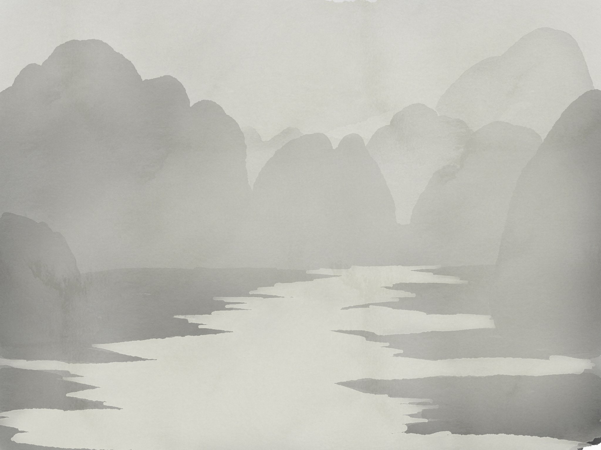 Halong Bay made with Sketches
