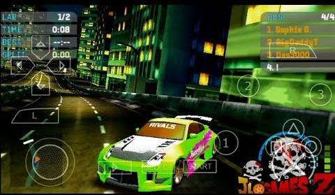 SAIUU!! NOVO (MOD) NEED FOR SPEED UNDERGROUND 2 PARA CELULARES ANDROID (PPSSPP) + DOWNLOAD