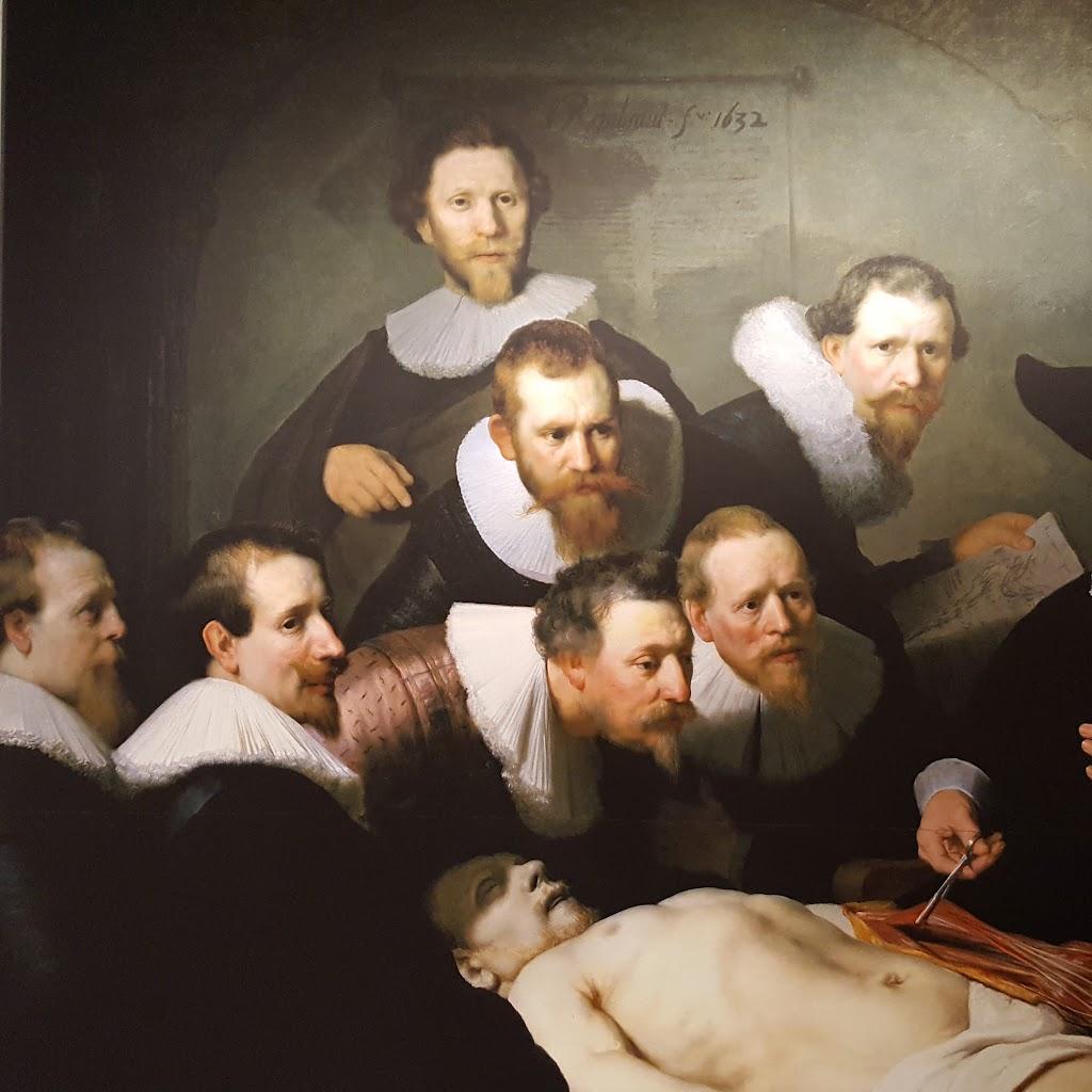 学 の 講義 テュルプ 博士 解剖
