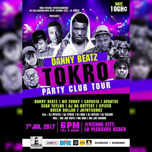 2ND EDITION OF DANNY BEATZ TOKRO CLUB TOUR AT VIENNA CITY
