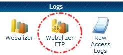 Tombol Webalizer FTP
