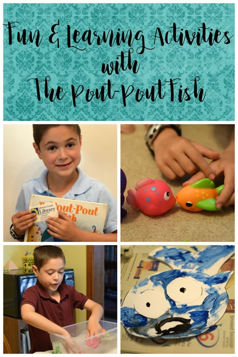 The Pout Pout Fish–Fun and Learning Activities