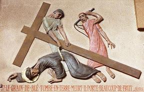 IXème Station : Jésus tombe pour la troisième fois