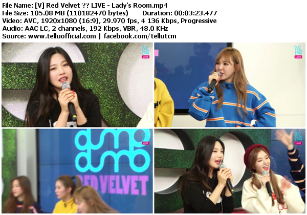 Red Velvet Lady S Room Download