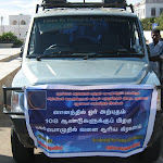 Popular Campaign for safe viewing of the solar eclipse was conducted in the villages of Puducherry.
