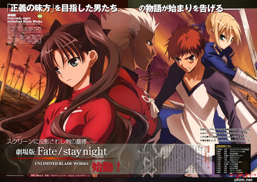 24hphim.net dxe793 Fate/stay night Unlimited Blade Works TV