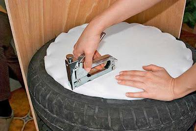 Puff de pneu como fazer