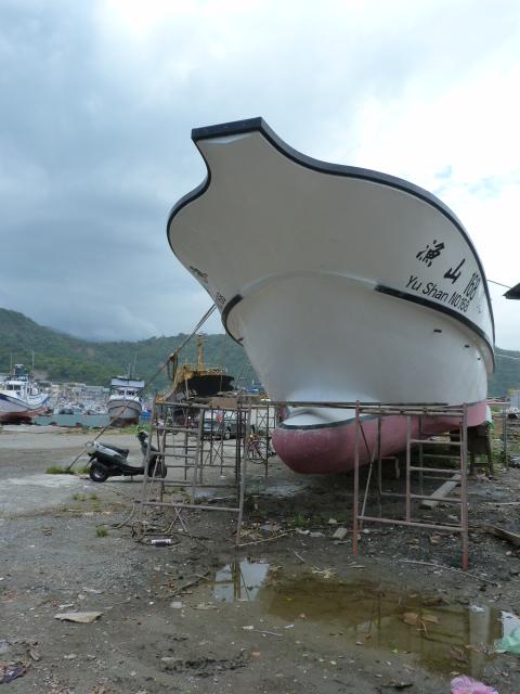 TAIWAN .Le port de SU AO - P1090157.JPG