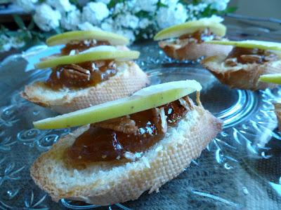Pecorino w/ Apples & Fig Jam