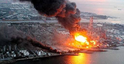 Incendio en central nuclear de Japon