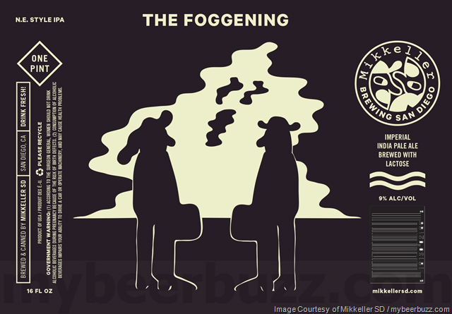 Mikkeller San Diego Adding Misty Elliot, Don Graper, The Foggening & Ol Nagelfar Cans