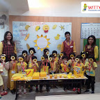Yellow Day Celebration by Jr.KG Section at Witty World Bangur Nagar (2018-2019)