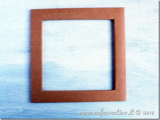 come fare cornice cartone e carta - tutorial by cafecreativo (6)