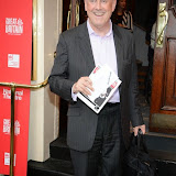 WWW.ENTSIMAGES.COM -  Gyles Brandeth    arriving  at     Great Britain - press night at Theatre Royal Haymarket, London September 26th 2014West End Opening at Theatre Royal Haymarket for Richard Bean's GREAT BRITAIN -  Play about an ambitious tabloid editor in production described as anarchic satire about the press, the police and the political establishment.                                                    Photo Mobis Photos/OIC 0203 174 1069