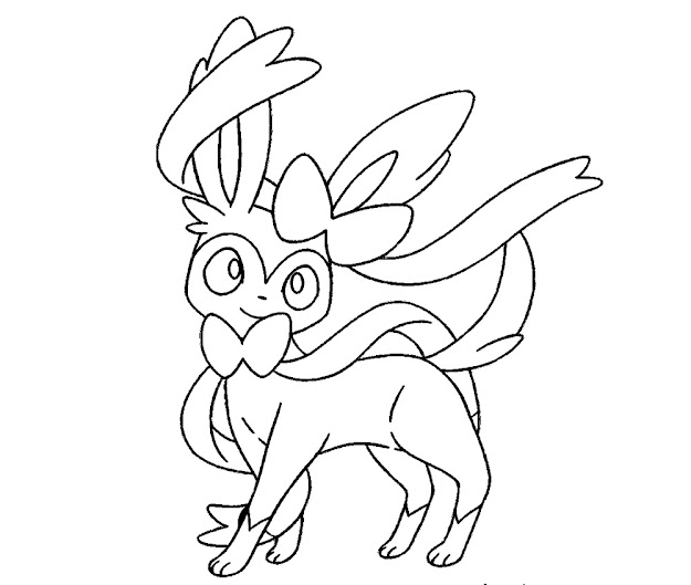 Pokemon Coloring Page New
