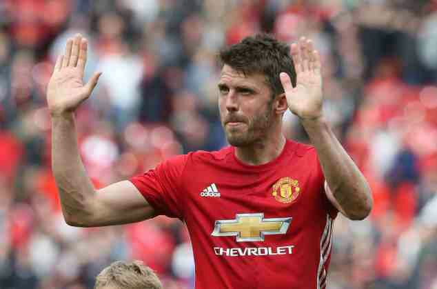 Man Utd name Carrick as new captain following Rooney departure