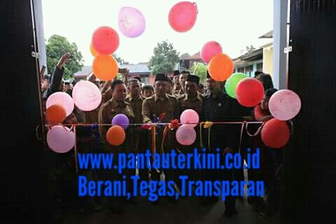 Bupati Dan wakil Bupati kunjungan kerja (kunker) di kecamatan way Tenong