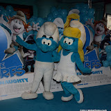WWW.ENTSIMAGES.COM -        The Smurfs 2 - gala film screening at Vue West End (Leicester Square), London, July 28th 2013                                                  Photo Mobis Photos/OIC 0203 174 1069