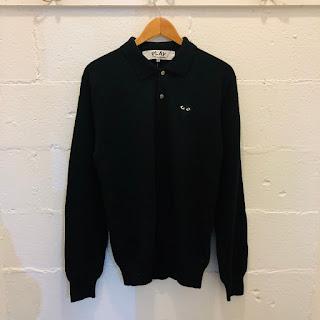 Comme des Garçons PLAY Polo Sweater
