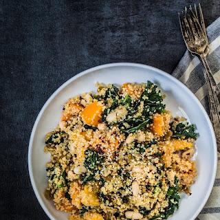 Power Quinoa Kale Salad.