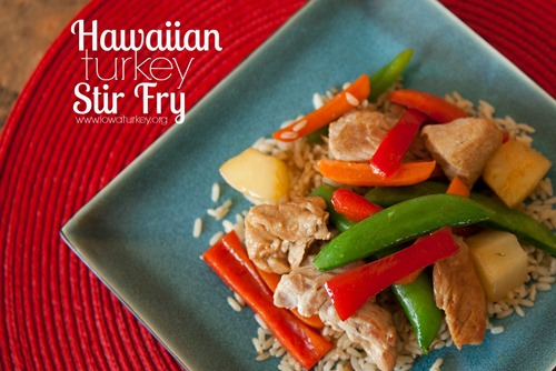 hawaiian turkey stir fry recipe