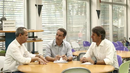 Marcello Maranhão e o deputado Fernando Monteiro buscam recursos para Ribeirão