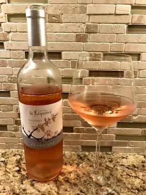 Sassy Wine Belly Château de la Liquière Les Amandiers Faugères Rosé 2015