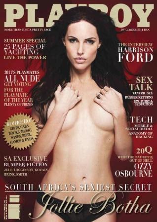 Download Revista Playboy África Do Sul   Dezembro 2011 Baixar
