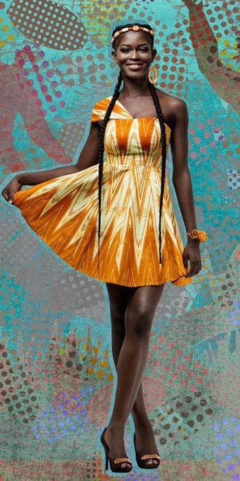 ankara short gown designs (8)